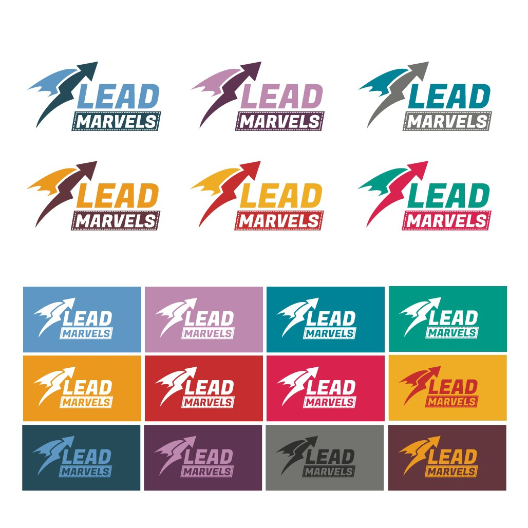 Design a super, marvelous logo for Lead Marvels, a lead generation company