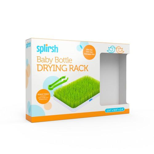 Packaging Design for Bottle Drying Rack