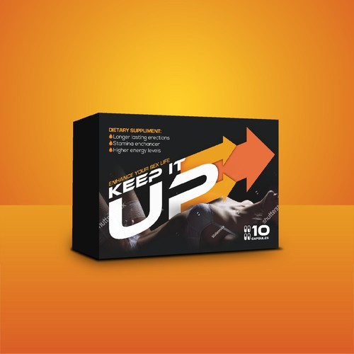 ''Keep it up'' package design