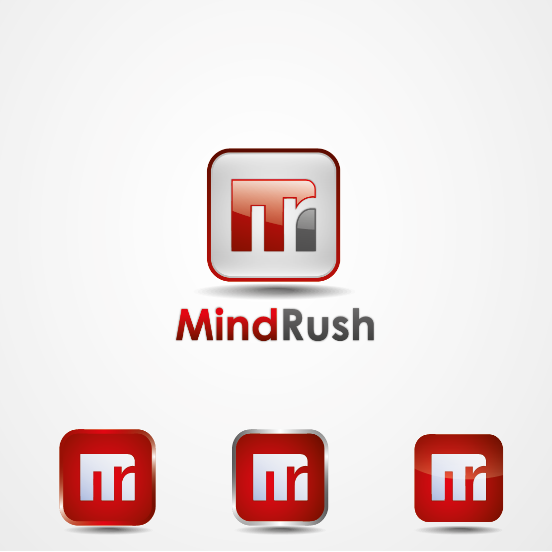 """MindRush needs Logo that scream """"We are Creative, Dynamic, and Energetic"""""""