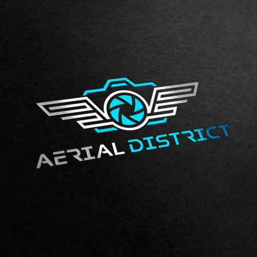 Logo for aerial photography company