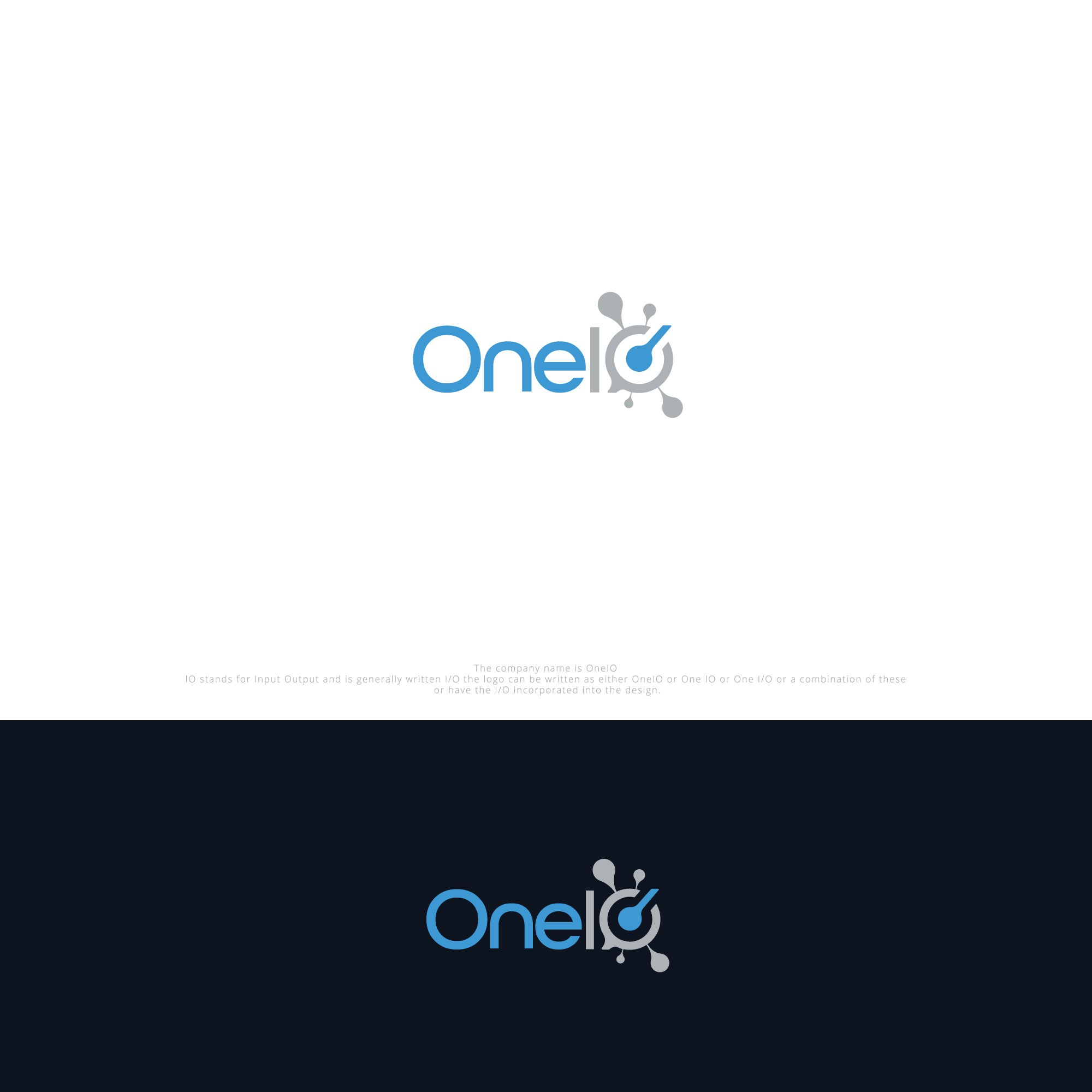 Create the logo for OneIO