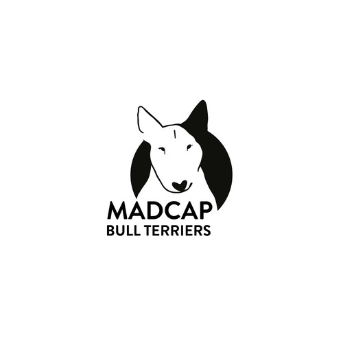 Bold logo, negative space