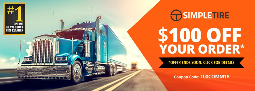 Trucking Tire Promotion Ads