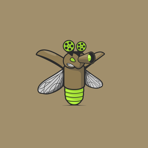 Firefly mascot design