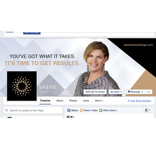 Facebook banner for Mentoring Brand