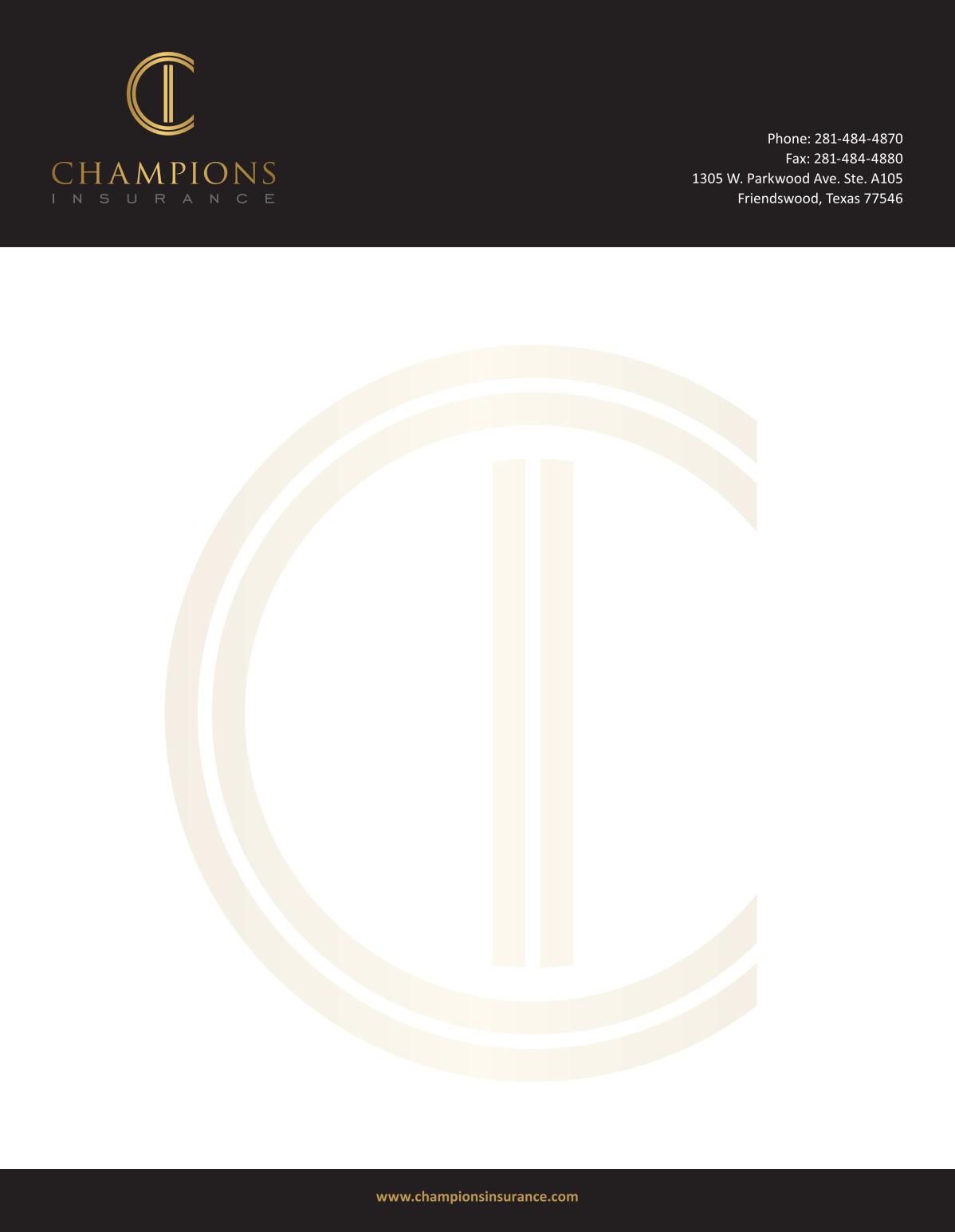 Letterhead & envelopes with New logo