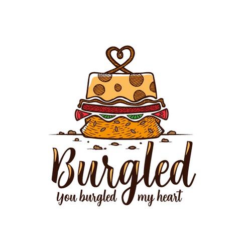 Burgled. You burgled my heart