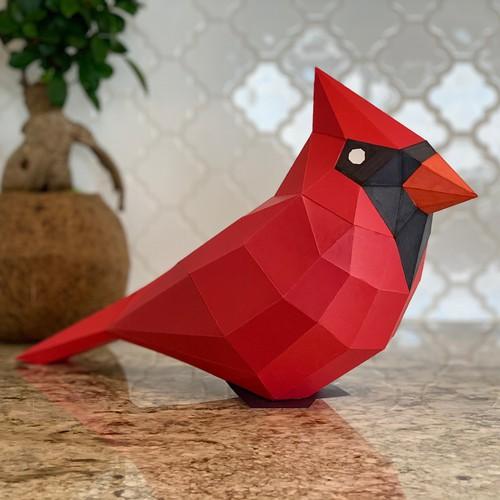 PaperCraft Bird Model