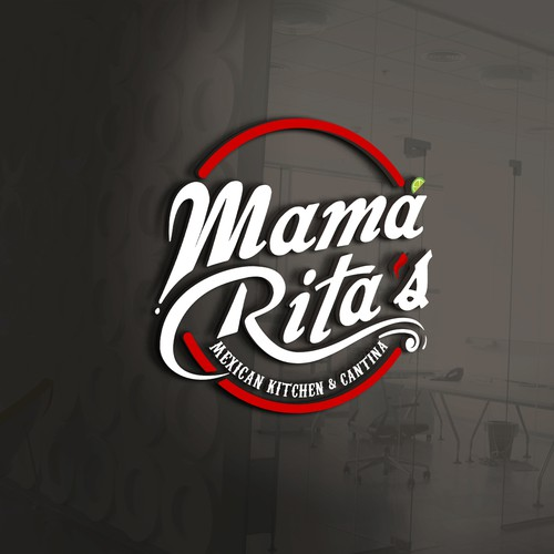 Clean and Bold logo for Mexican kitchen