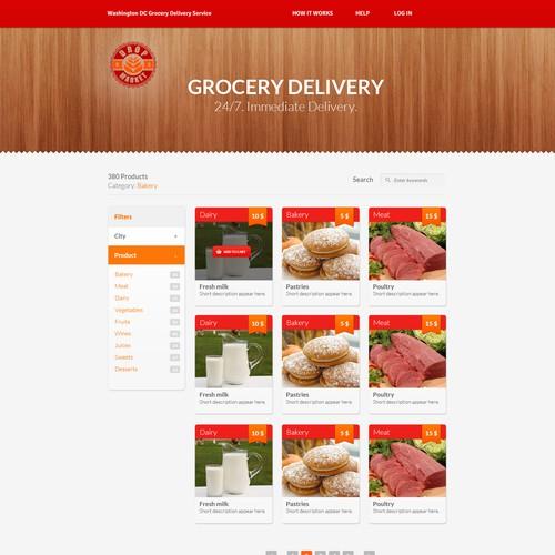 website design for DropMarketDC.com