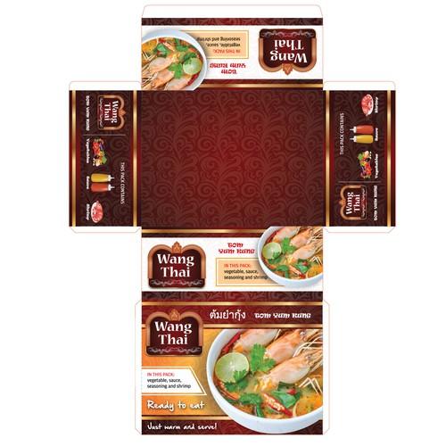 Thai food packaging