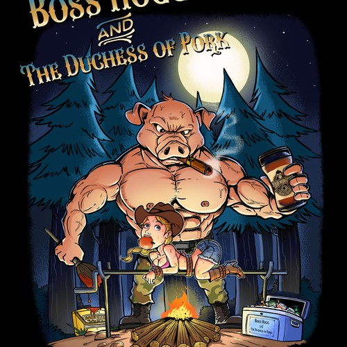 Boss Hog and the duchess of pork