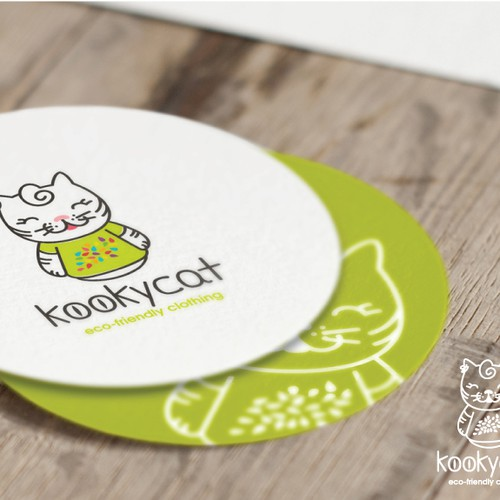 Logo for eco-friendly kids clothing