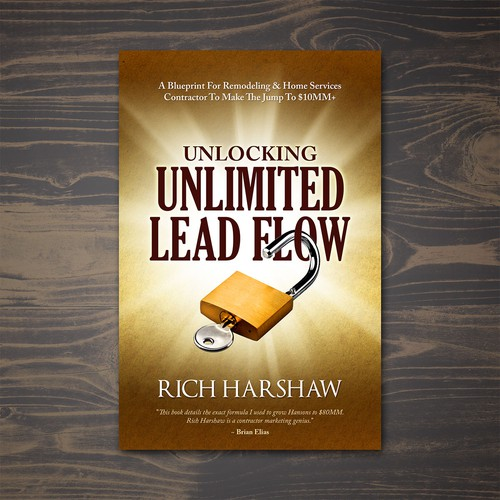 Book cover for Unlocking Unlimited Lead Flow book