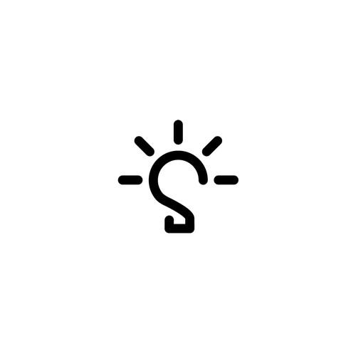 S with Light Bulb