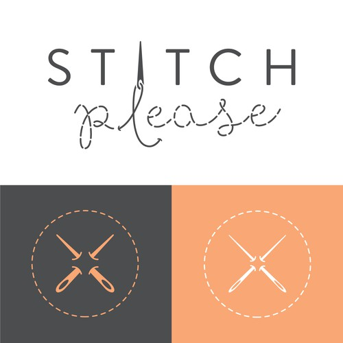 A captivating brand for a stitching company