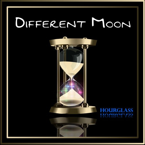 """CD cover for """"Different Moon"""" Hourglass"""