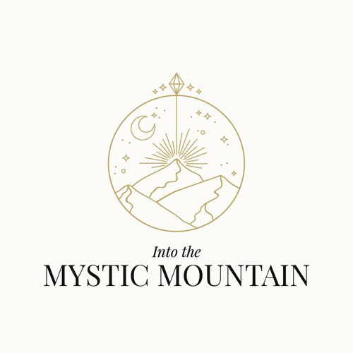 Powerful logo concept for a shamanic healer