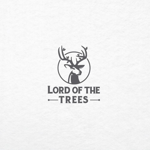 Logo concept for Lord of the Trees