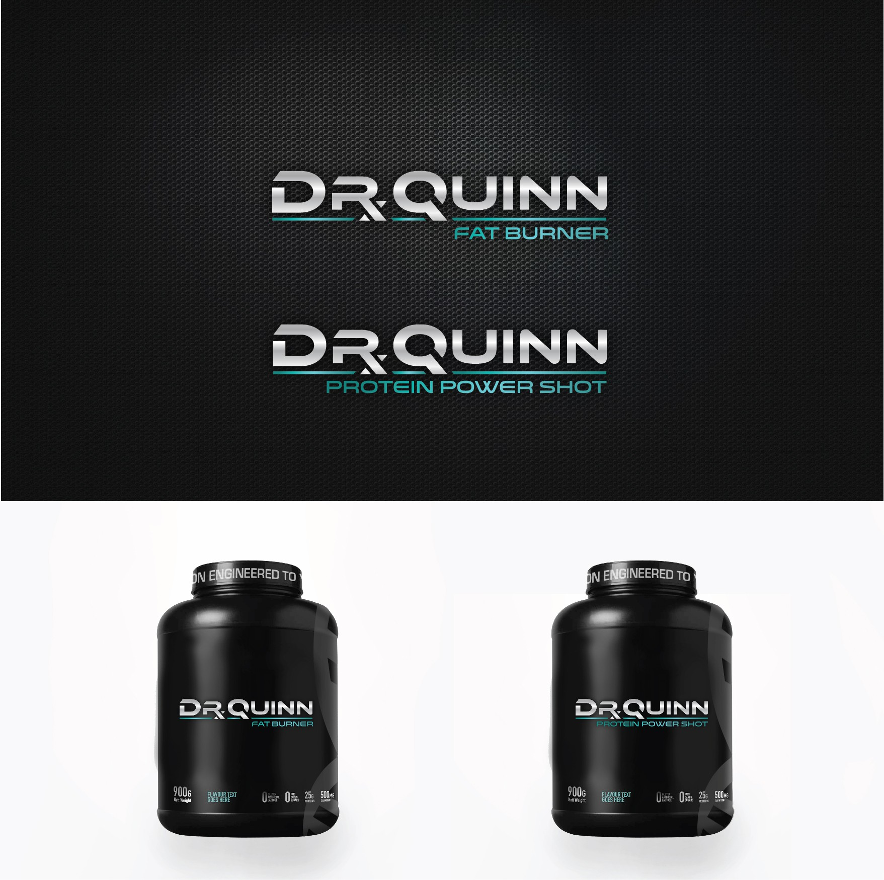 Create a logo for a luxury line of fitness supplements- physician designed.