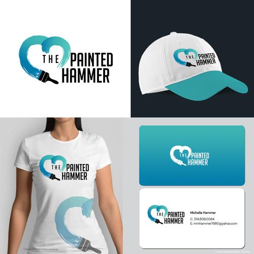 Painting Co. logo branding