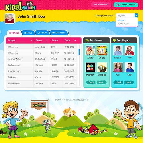 Create the best site for Kids in the world!