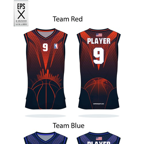 basket ball jersey for sabl team