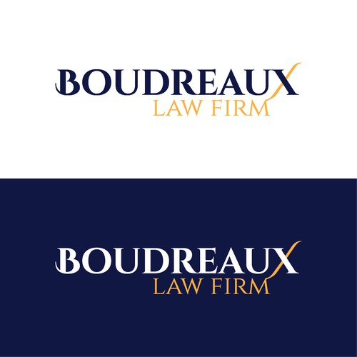 Boudreaux Law Firm branding