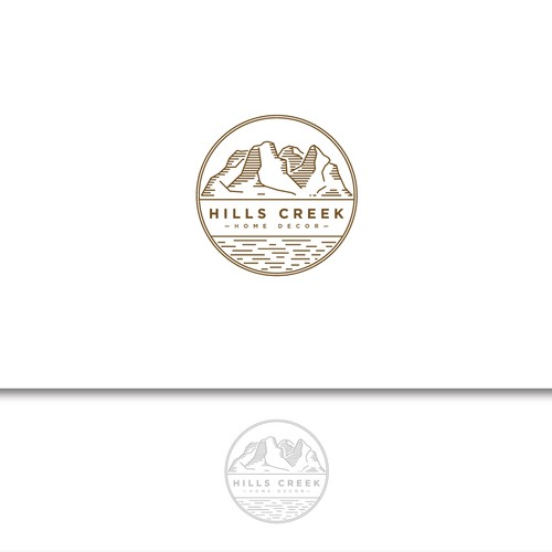 Logo for Hills Creek Home Decor