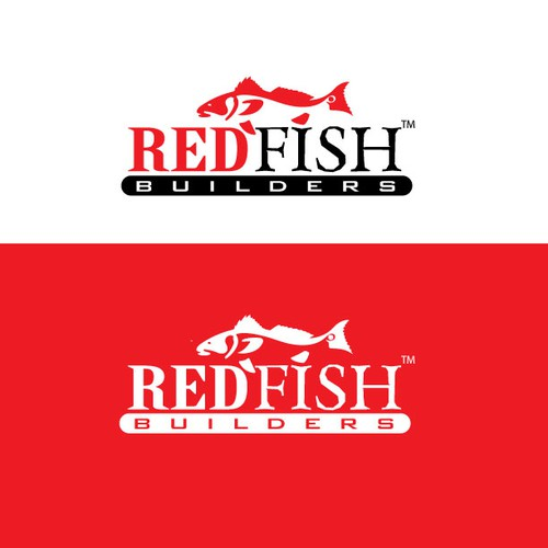Sleek Logo for Redfish Builders