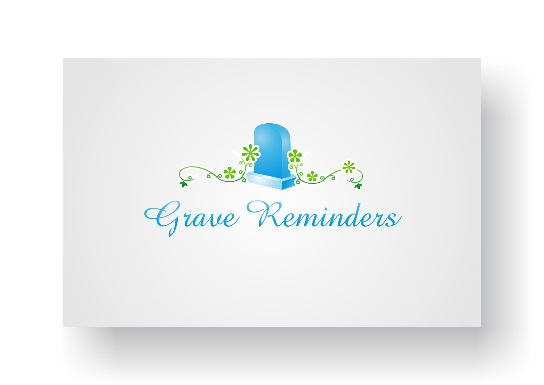 Help Grave Reminders with a new logo