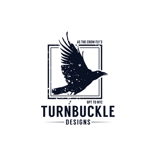 Crow Logo for Turnbuckle Designs