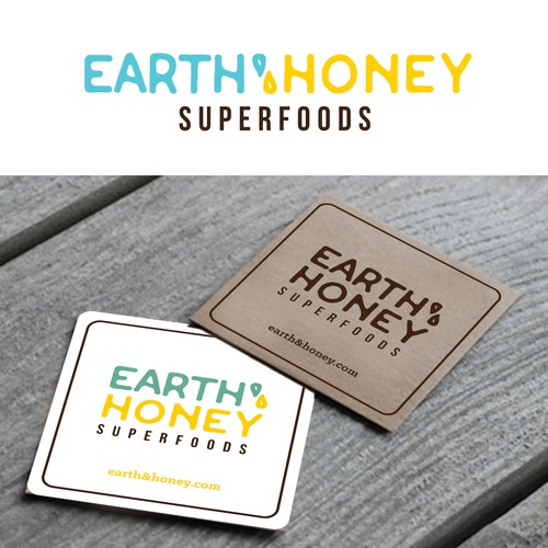 WINNING design for a healthy Earth & Honey Superfoods shop