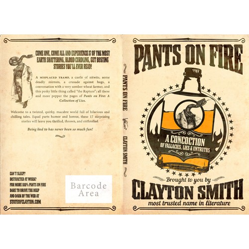 Book cover for Pants on Fire
