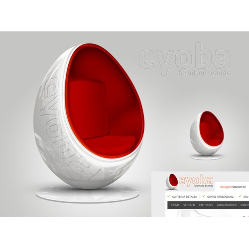 New icon or button design wanted for Eyoba.com Furniture Brands - online store