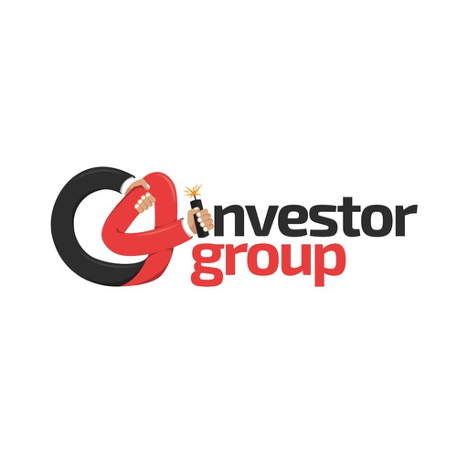 Bold logo for an investment group