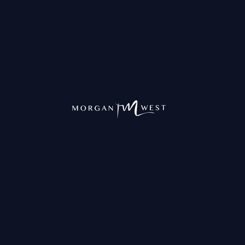 Morgan West logo design