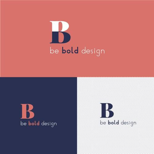 Logo for be bold design