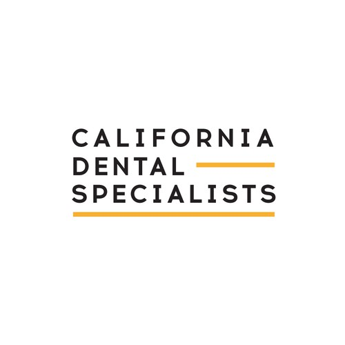 Dental Minimal Typographic Logo