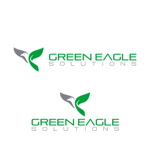 bold logo for green eagle