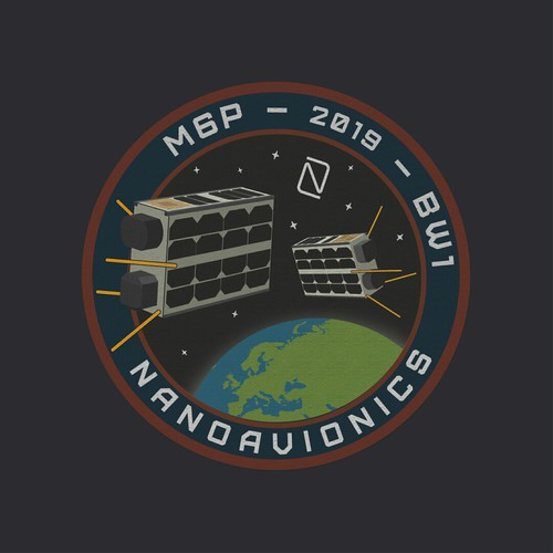 Design a MISSION PATCH for satellite mission