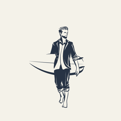 Logo Concept for Hipster Clothing Brand