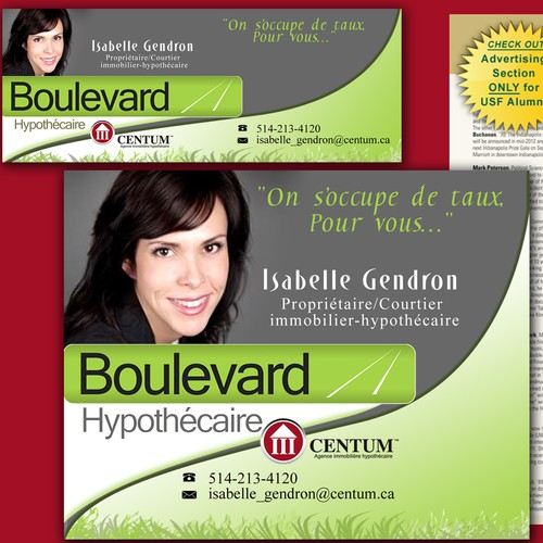 Boulevard Hypothecaire needs a new business or advertising