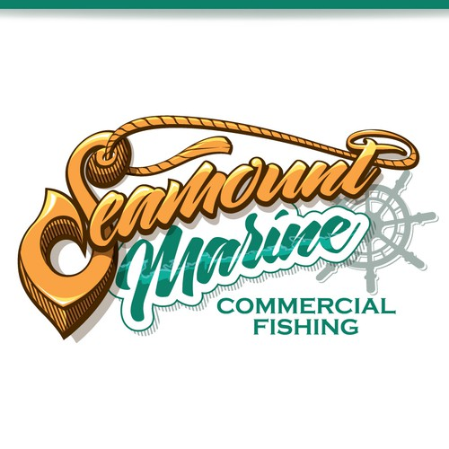 Commercial fishing logo
