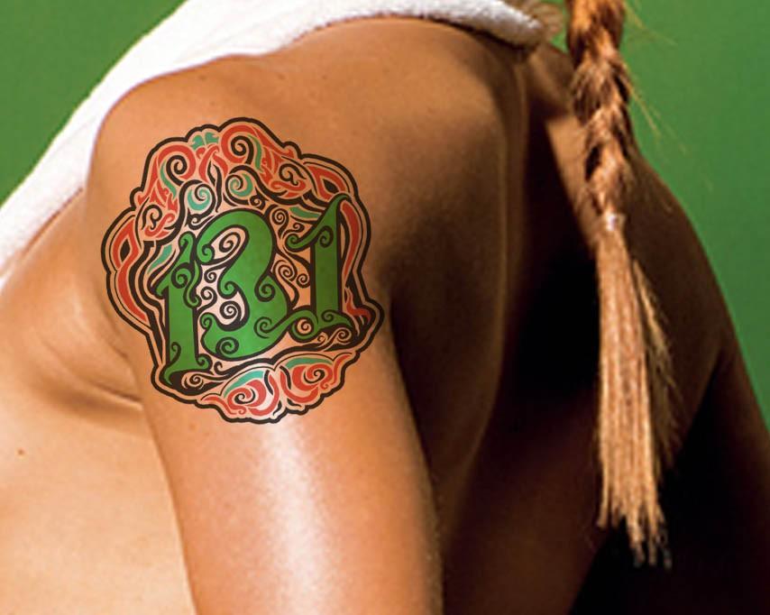 New design wanted for Half-Marathon Temporary Tattoo