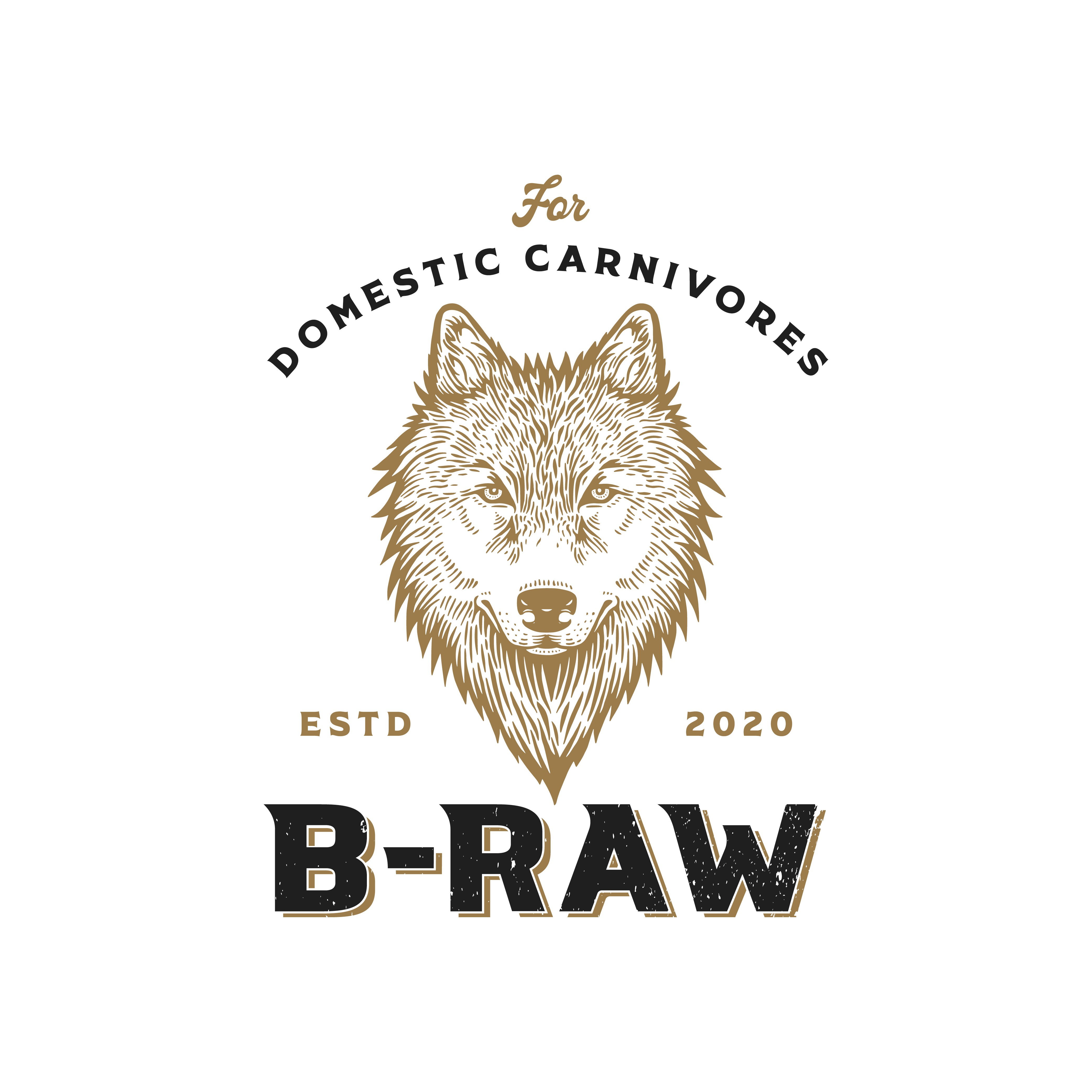Powerful Logo Design for online butchery for domestic carnivore