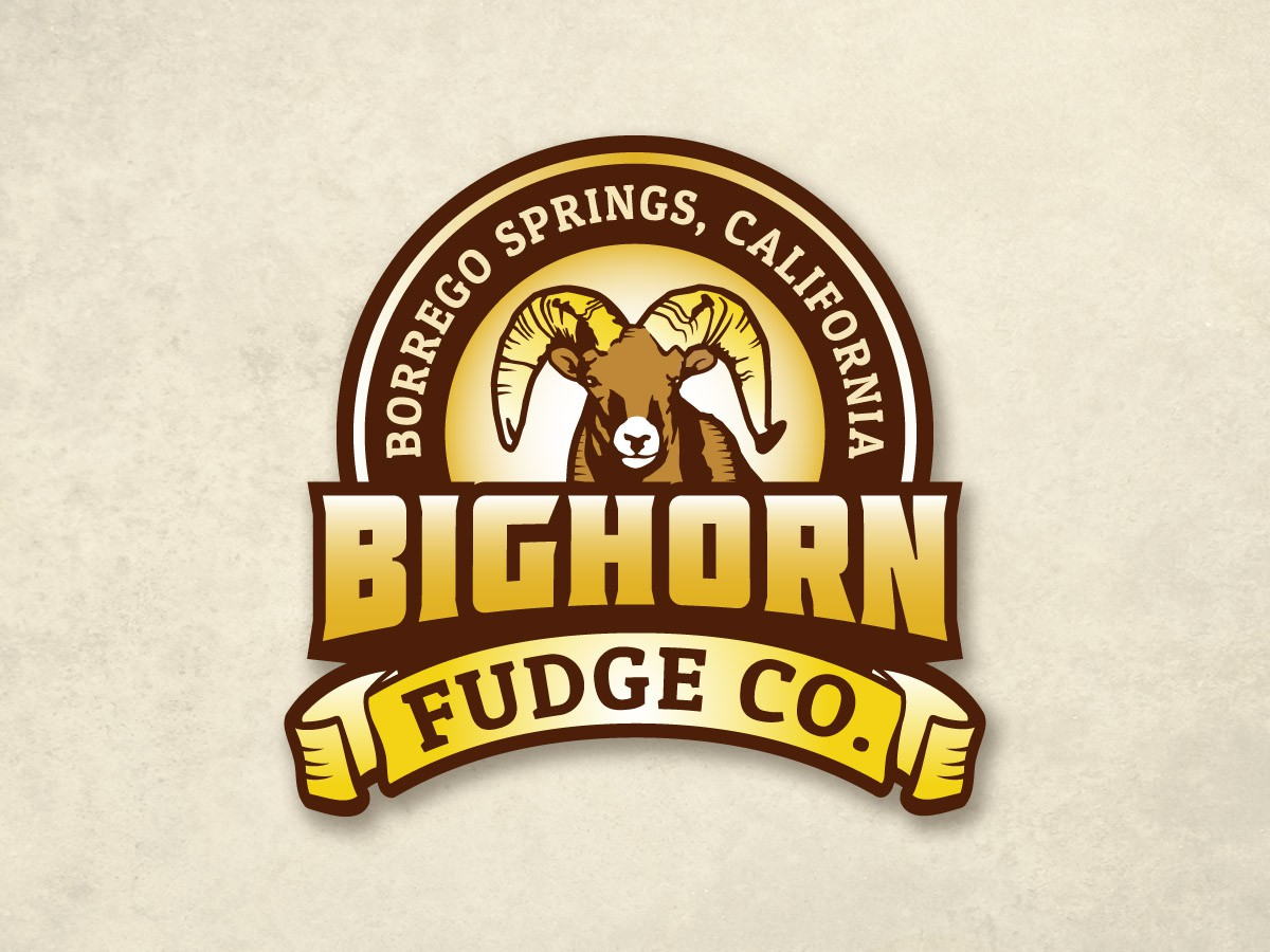 New logo wanted for Bighorn Fudge Co., Borrego Springs, California