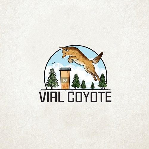 Vial Coyote