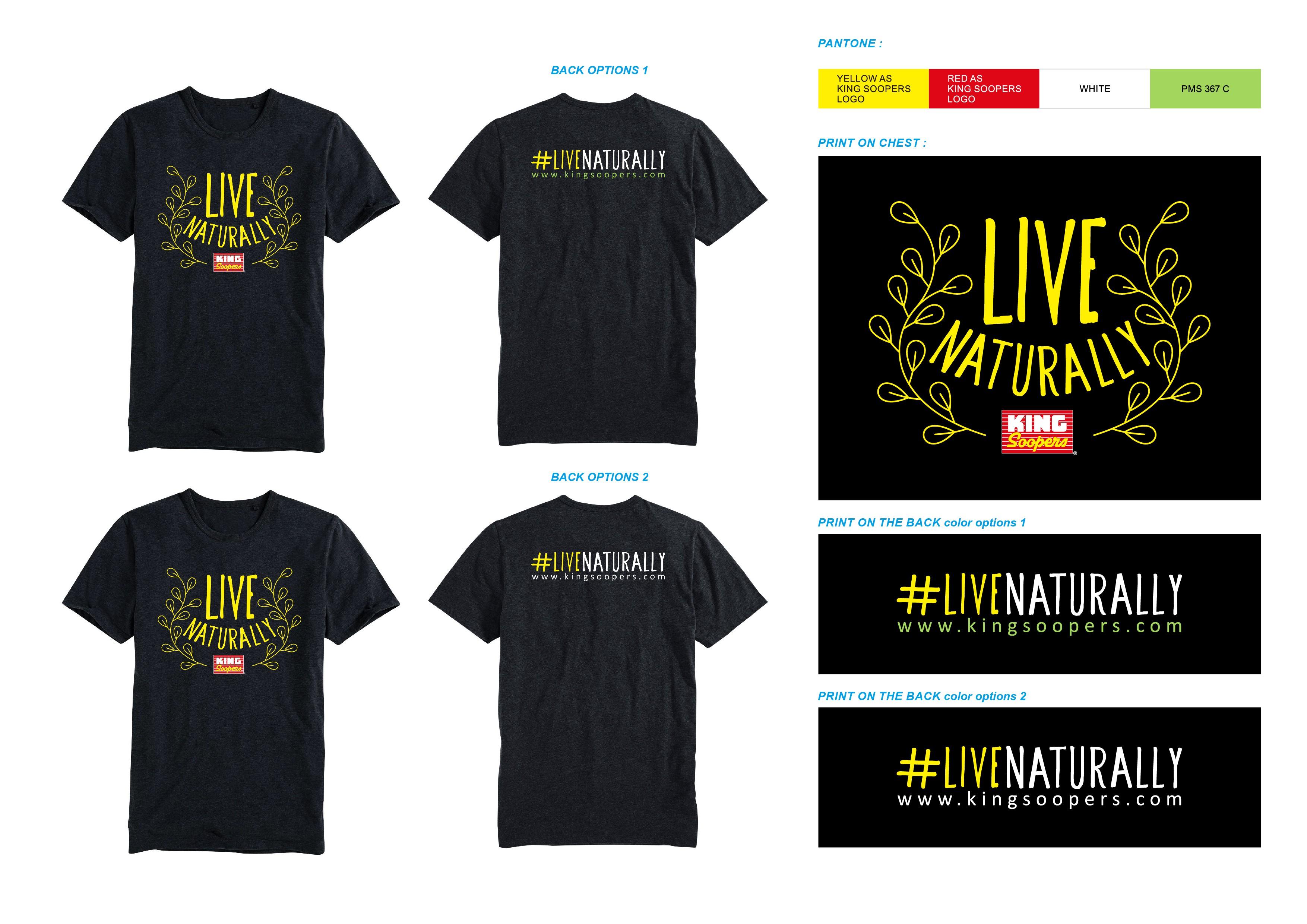 Live Naturally (T-Shirt)